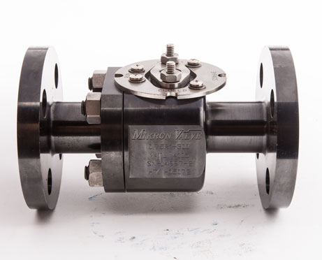 Metal Seated Ball Valve 3